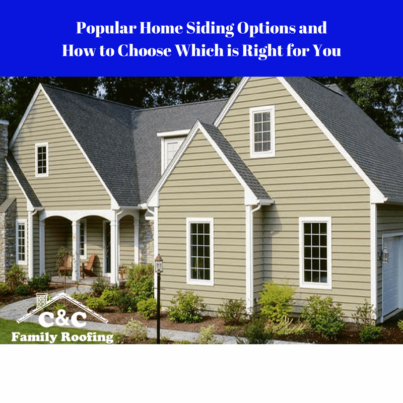 Popular Home Siding Options and How to Choose Which is Right for You